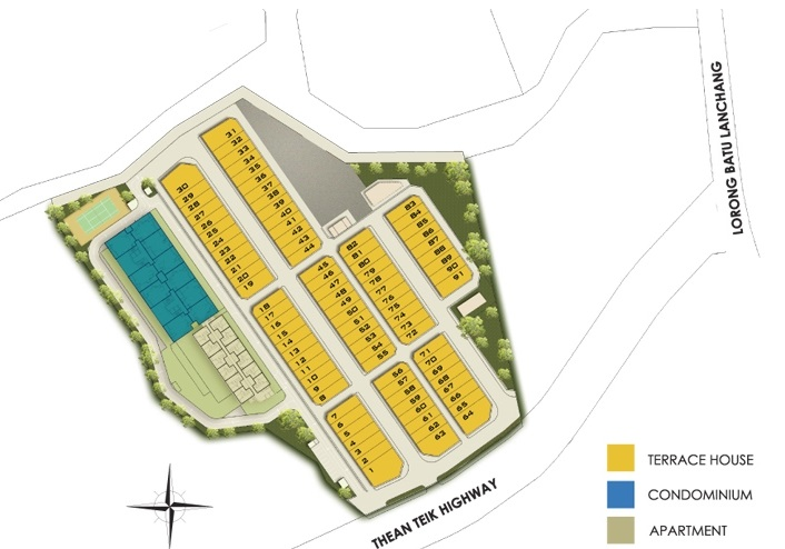 shineville site plan