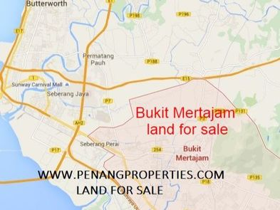 Bukit Mertajam land for sale