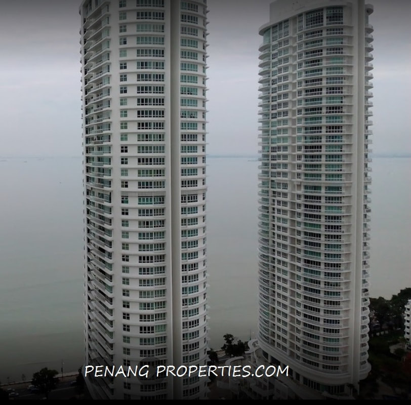 The tallest residential tower in Penang Island.