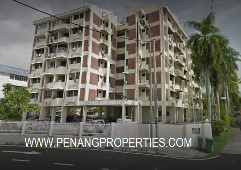 Jermal Jaya apartment for rent.