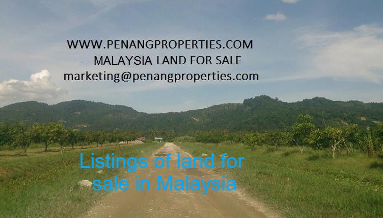 Land for sale in Malaysia