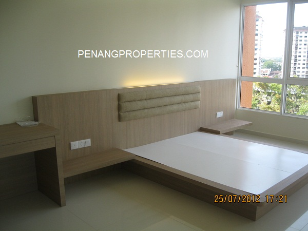 Semi furnished unit for rent