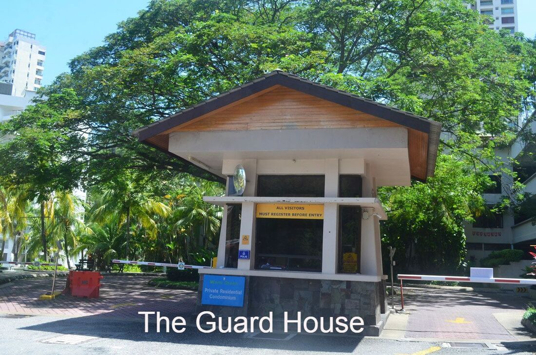 Guardhouse entrance
