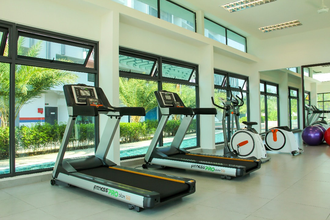 Gymnasium for a healthly lifestyle