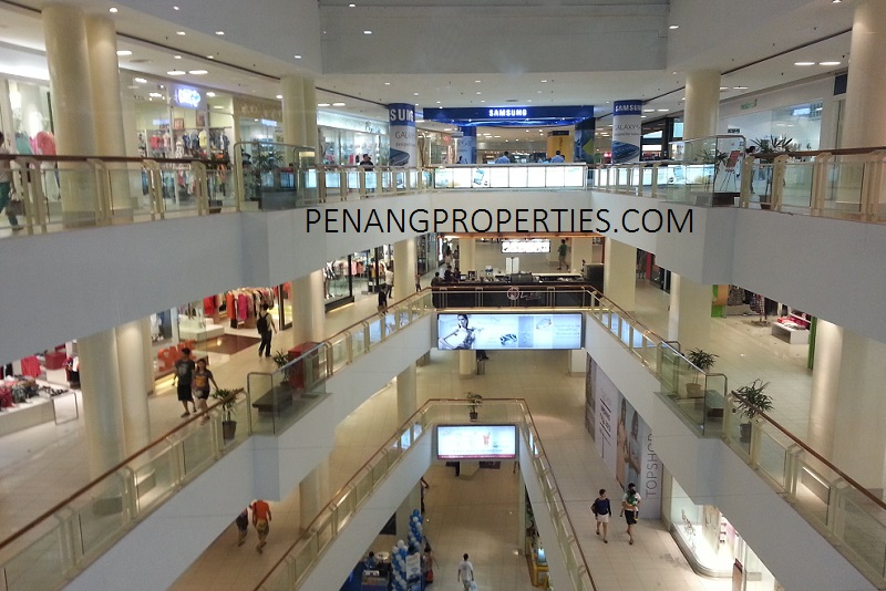 Modern premier shopping mall