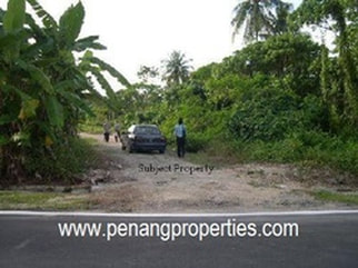 Land in Penang